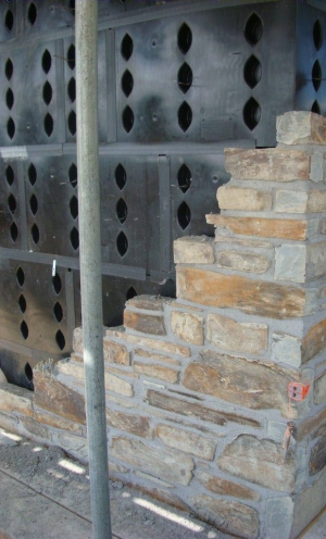 SureCav Cavity System Used With Stone Outer Leaf