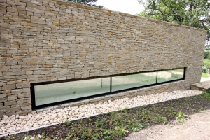 Semi-dry Stone Walling with SureCav