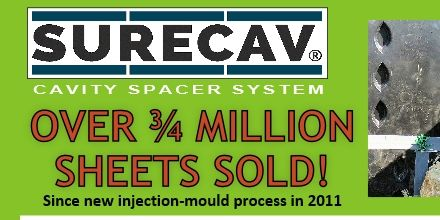 SureCav output reaches over 3/4 million sheets