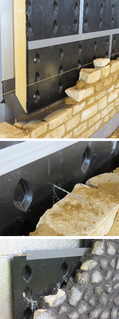 Cavity Wall Construction : Surecav innovative cavity wall solutions