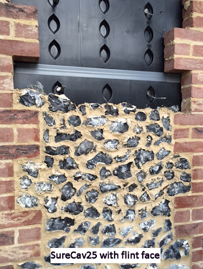 New Technology in Cavity Wall Construction!